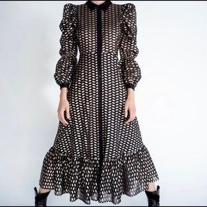 Zara Midi Party Dress